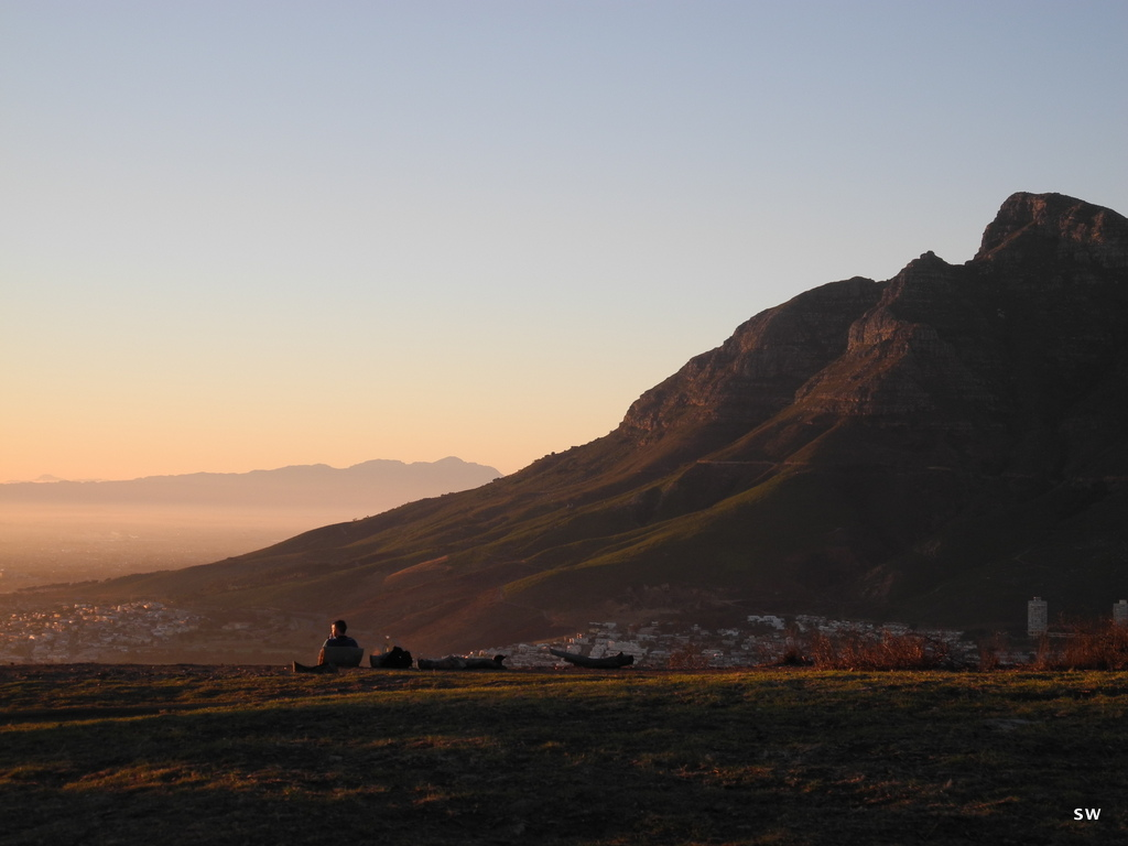 sunrise on Signal Hill