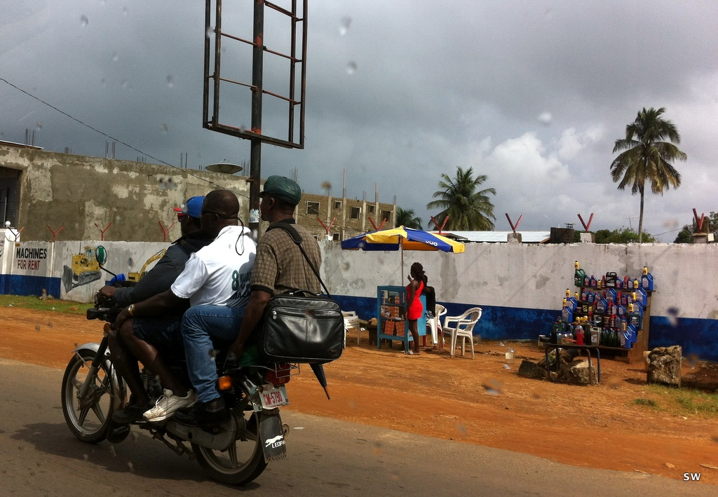 … and from that trip through Liberia