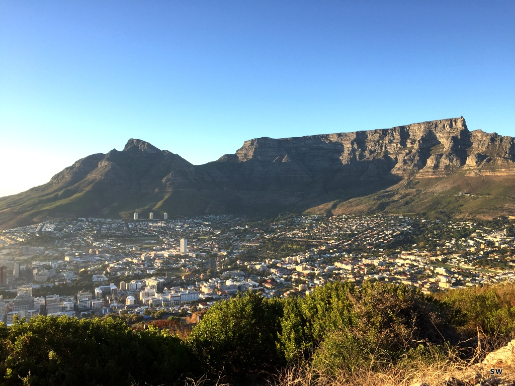 in Cape Town (finally again)